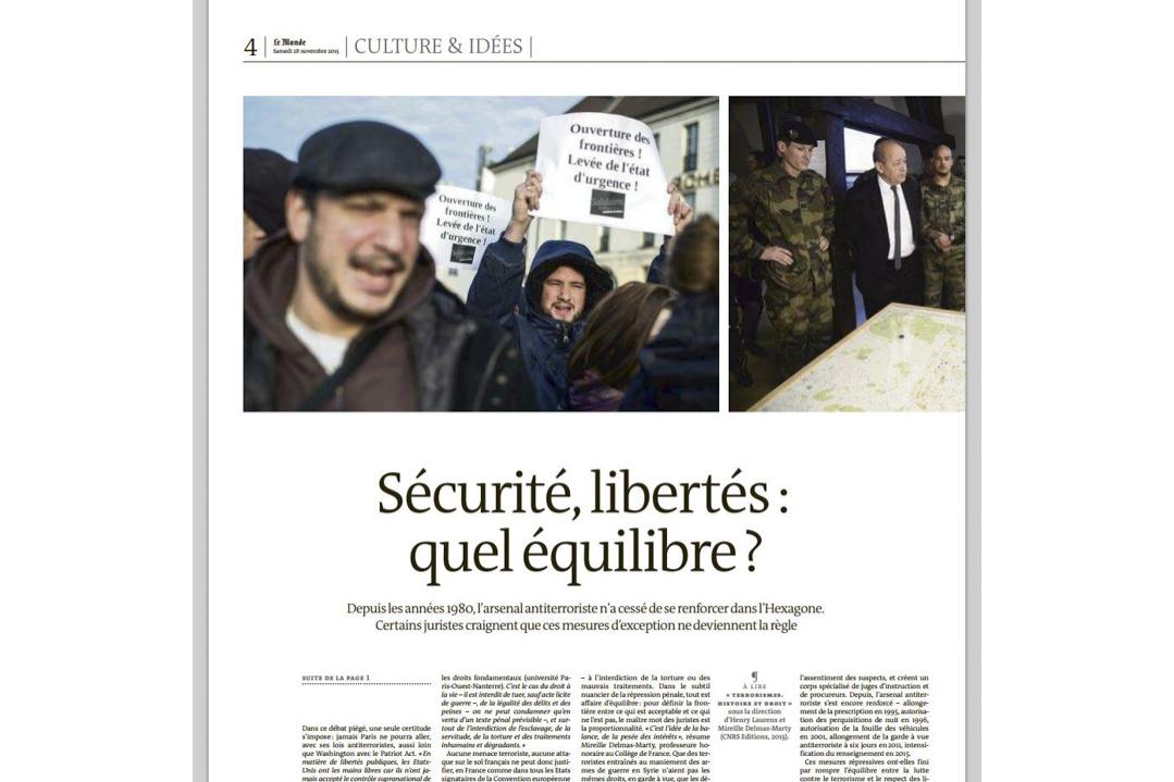 Le Monde / Michael BUNEL