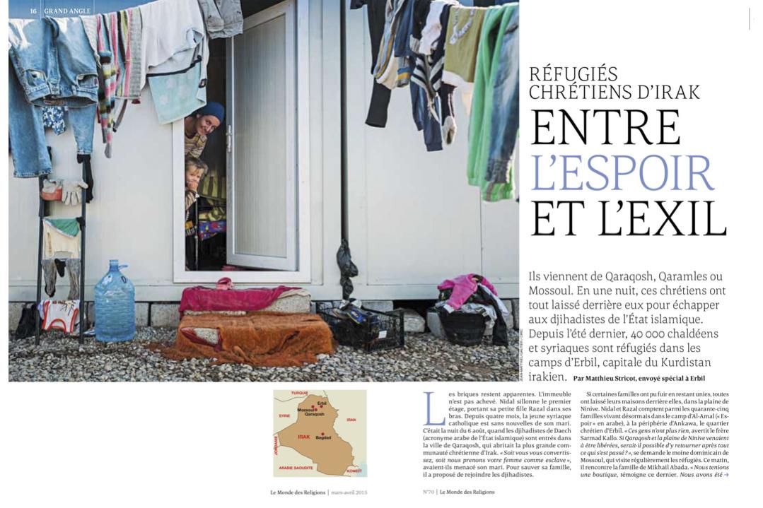 Le Monde des religions / Jean-Matthieu GAUTIER