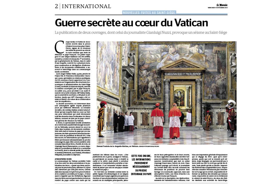 Le Monde / M.MIGLIORATO