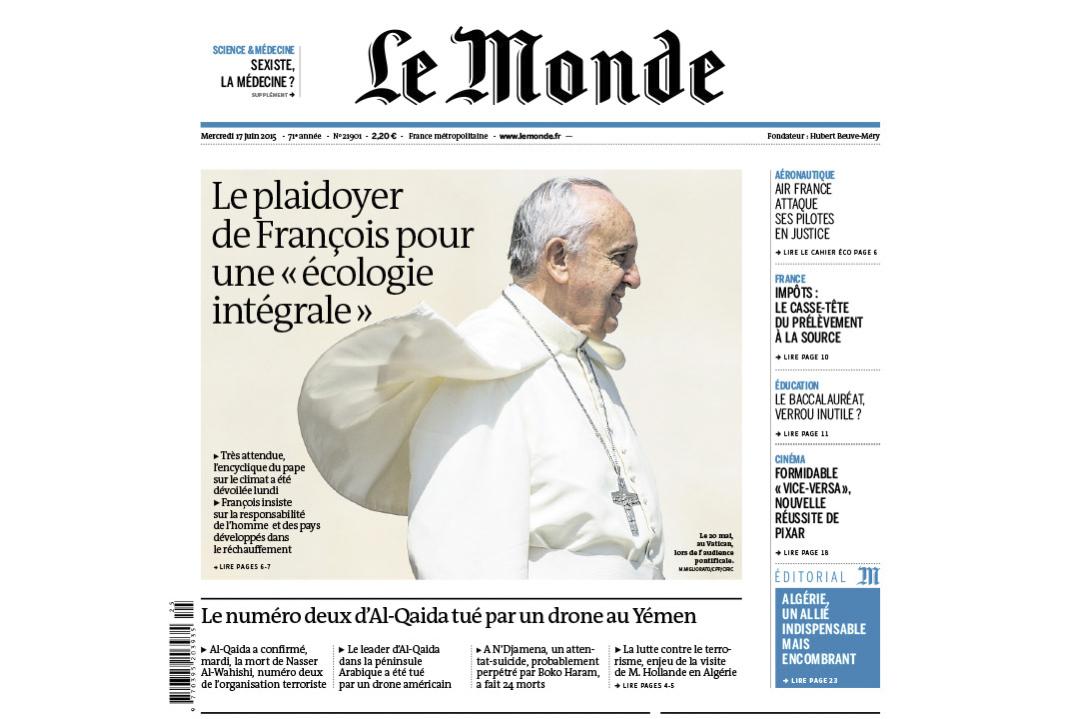 Le Monde / Alessia Giuliani