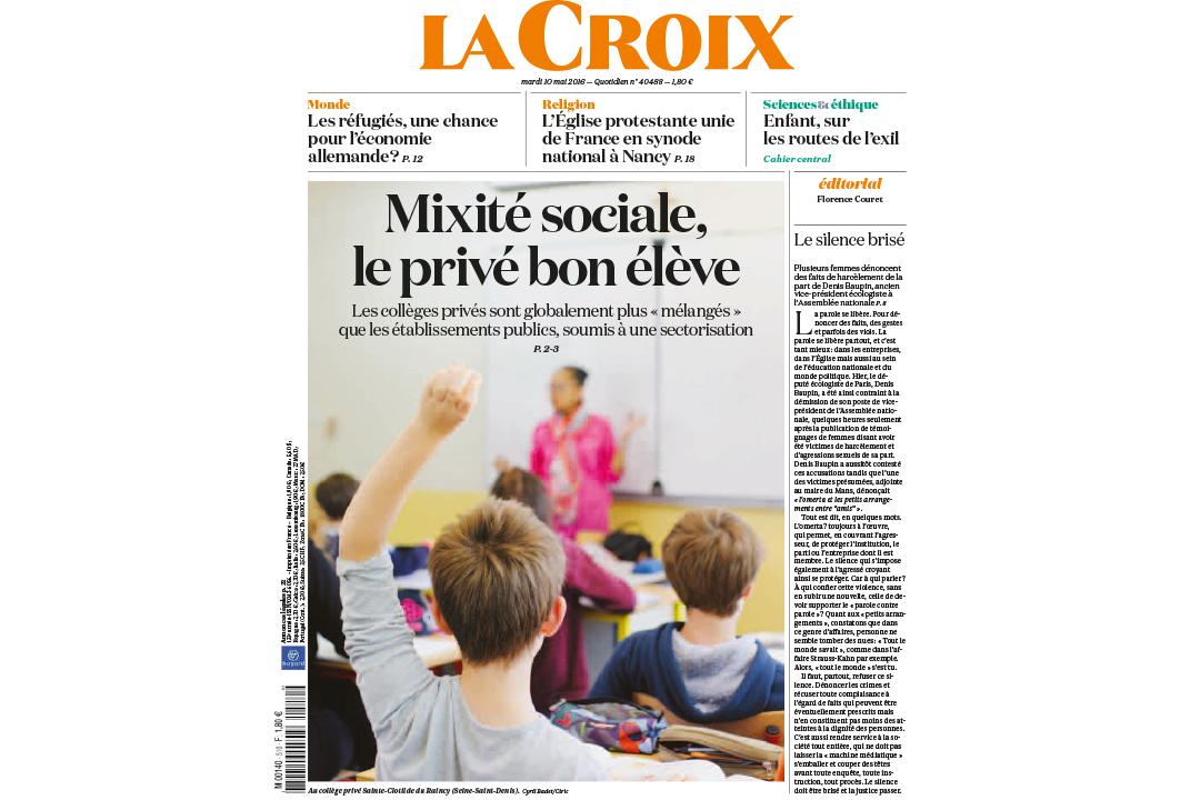 La Croix / Cyril BADET