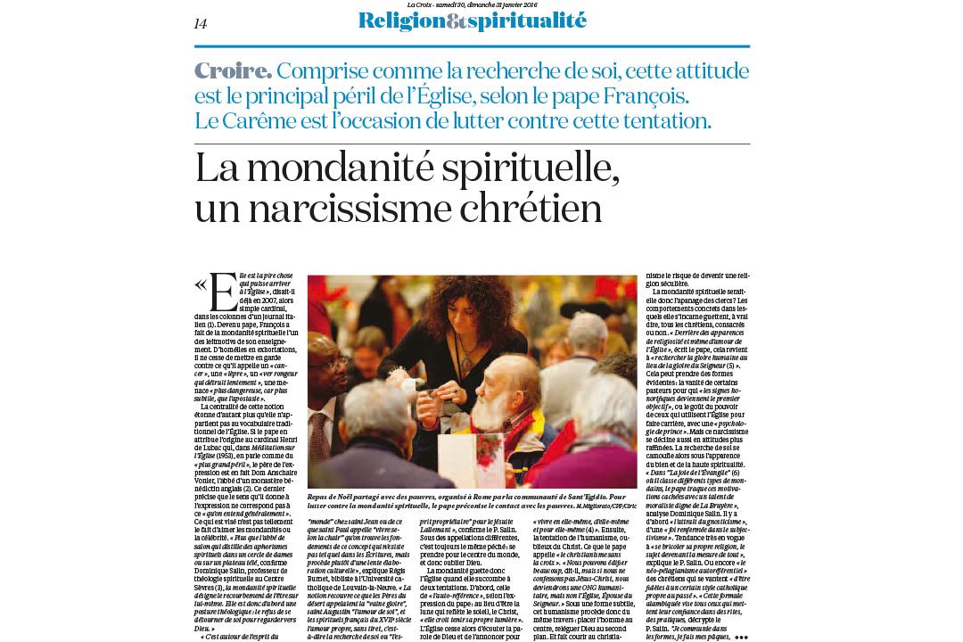 LA CROIX / M.MIGLIORATO