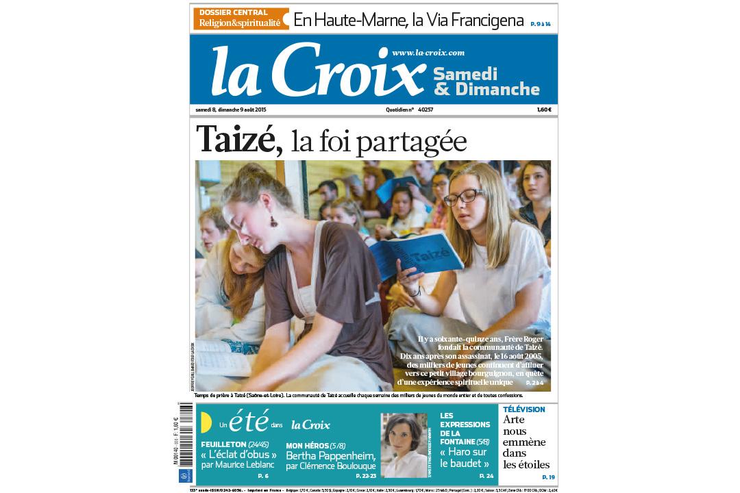 Jeoffrey GUILLEMARD / LA CROIX